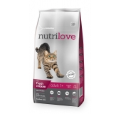 Nutrilove cat adult fresh chcicken 1,5kg